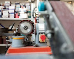 Garrigues Industries -Beaucaire - Abrasif et perçage